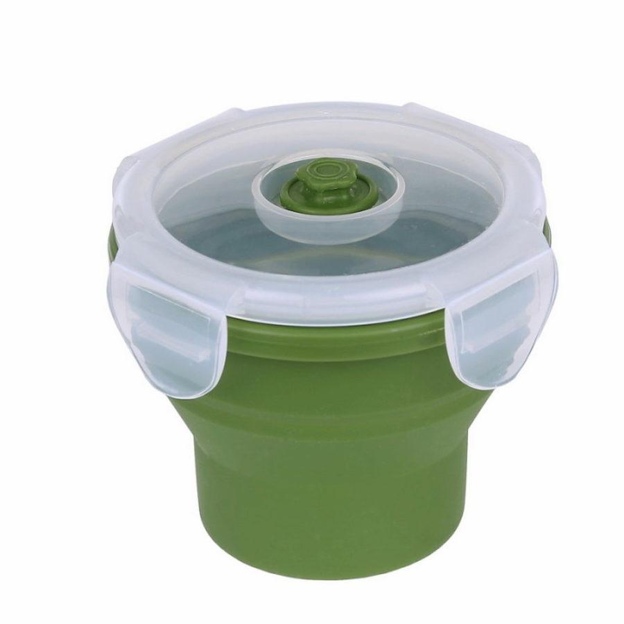 Tasse en silicone pliable