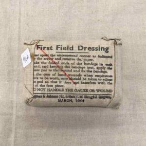 Pansement Anglais ww2 first field dressing