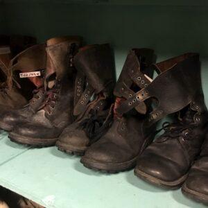 Rangers en cuir armée Française