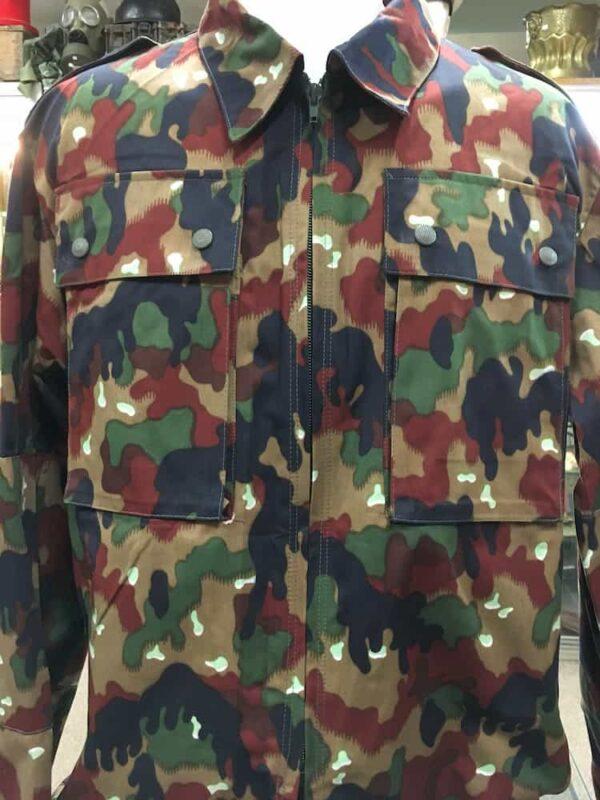 Veste camouflage Alpenflage armée Suisse