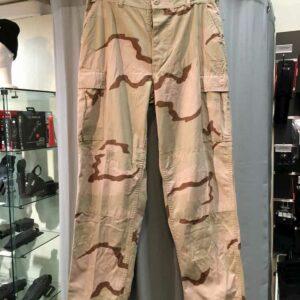 Pantalon BDU 3 couleurs désert armée américaine US