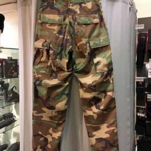 Pantalon BDU woodland armée américaine US