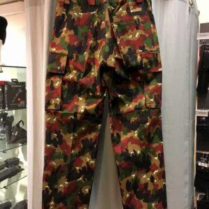 Pantalon camouflage Alpenflage armée Suisse