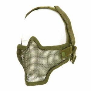 Masque airsoft en métal vert kaki 101 Inc