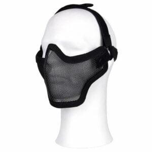 Masque airsoft en métal noir 101 Inc