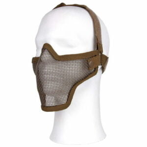 Masque airsoft en métal tan 101 Inc