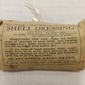 Pansement Anglais ww2 Shell Dressing