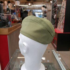 Calot vert avec insigne Soviétique armée Russe