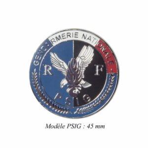 Médaille pour porte carte Gendarmerie PSIG Patrol Equipement