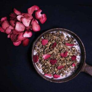Petit déjeuner Muesli croquant aux fraises - TACTICAL FOODPACK