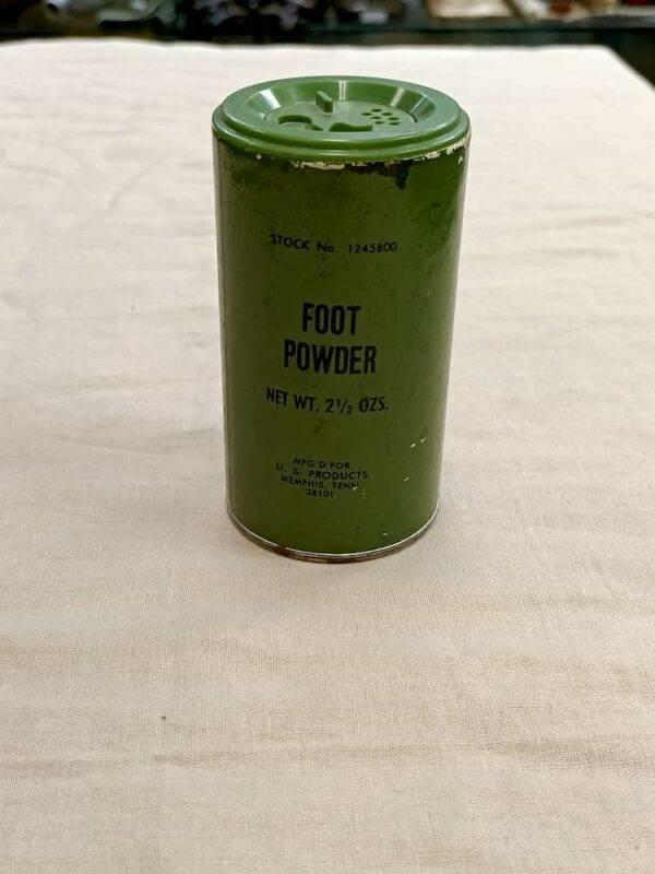 Boîte foot powder US Viêtnam
