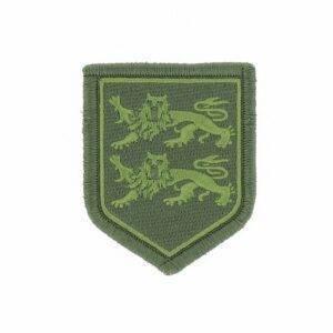 Ecusson tissu basse visibilité gendarmerie Haute Normandie vert
