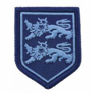 Ecusson tissu basse visibilité gendarmerie Haute Normandie bleu