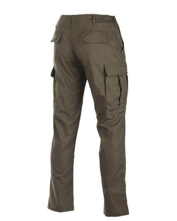 Pantalon de trekking BDU vert OD Miltec