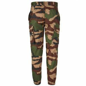 Pantalon treillis F2 camouflage ce entrejambe 70 cm Patrol Equipement